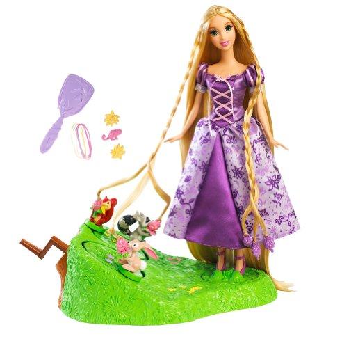 Disney Tangled Featuring Rapunzel Braiding Friends