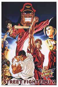 Street Fighter II V TV Series DVD Set