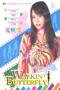 WALKING BUTTERFLY Japanese Drama DVD Set