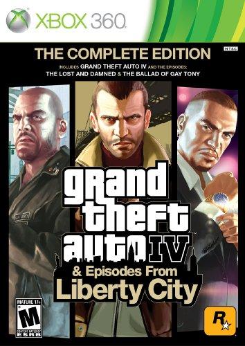 Grand Theft Auto IV: Complete Xbox 360