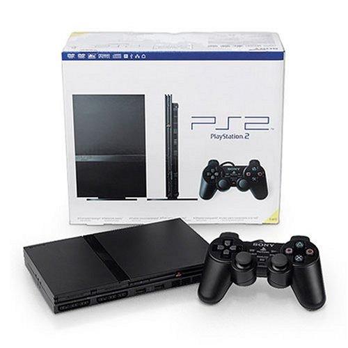 PlayStation 2 Console Slim - Black PS2