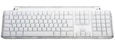 Apple USB Keyboard - White Mac OS X