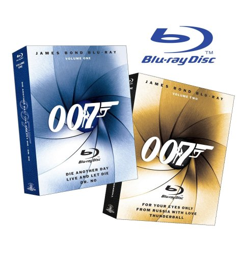 James Bond Blu-ray Collection Six-Pack (Dr. No / Die
