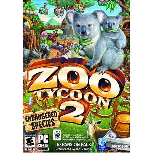 Microsoft Zoo Tycoon 2 Endangered Species Windows XP