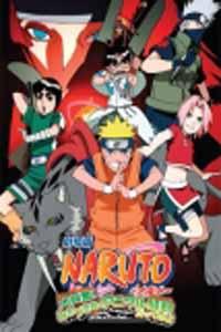 Naruto Movie 3 Movie DVD Set