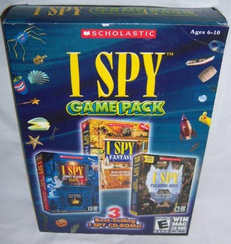 I Spy Game Pack (I Spy Spooky Mansion Deluxe / I Mac