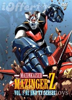 Mazinger Z Vol 1-92 Series TV Series DVD Set