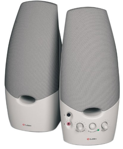 Labtec LCS-1070 Spin 70 2-Piece Computer Speakers