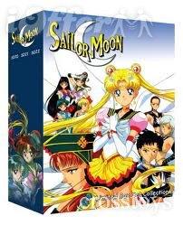Sailor Moon/Sailormoon TV Series & Movies Uncut DVD Set