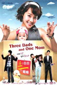THREE DADS AND ONE MOM Korean Drama DVD Set