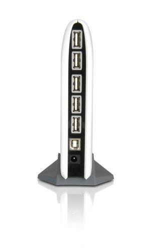 IOGEAR GUH227 7 Port High Speed USB 2.0 Hub for Windows