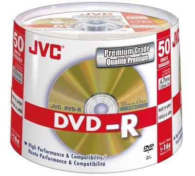 JVC VD-R47HGS50 - 50 x DVD-R - 4.7 GB 16x - gold -