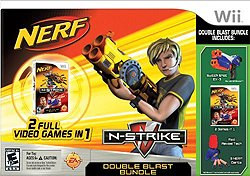 Nerf N-Strike Double: Blast Bundle Wii