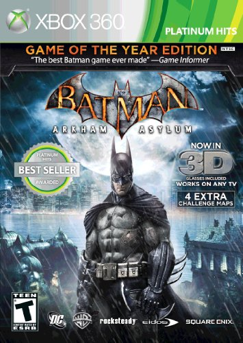 Batman Arkham Asylum: Game of the Year Xbox 360