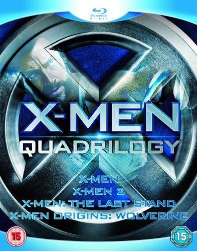 X-Men Quadrilogy - X-Men, X-Men 2, X-Men: The Last