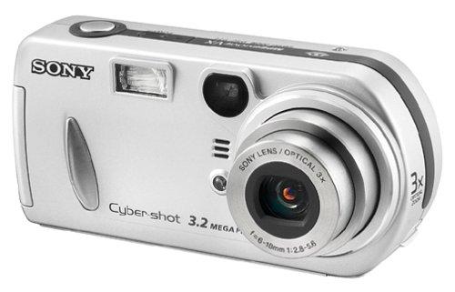 Sony DSCP72 Cyber-shot 3.2MP Digital Camera w/ 3x