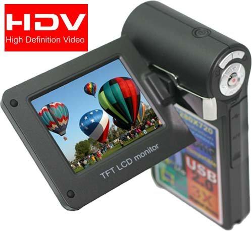 "SVP T400-Black 1280x720p True HD Camcorder with 2.4"""