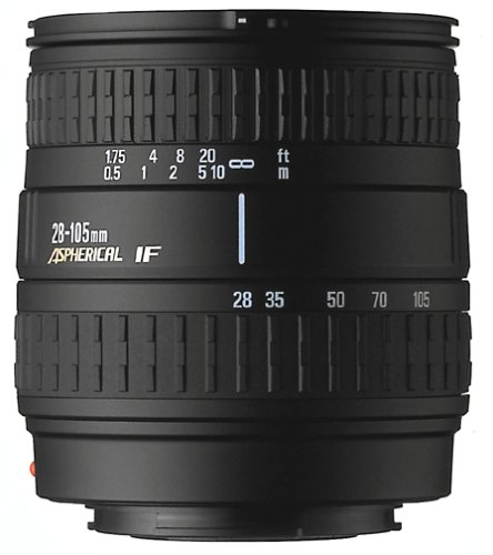 Sigma 28-105mm f/3.8-5.6 Aspherical Macro Lens for