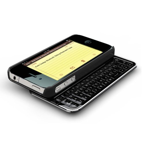 Dobi Design Apple iPhone 4 Sliding Bluetooth Keyboard