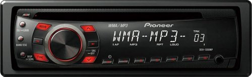 Pioneer DEH-1300MP CD Receiver with MP3/WMA Playback