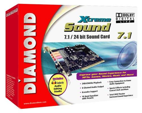 Diamond XtremeSound 7.1/24 bit Sound Card Windows XP