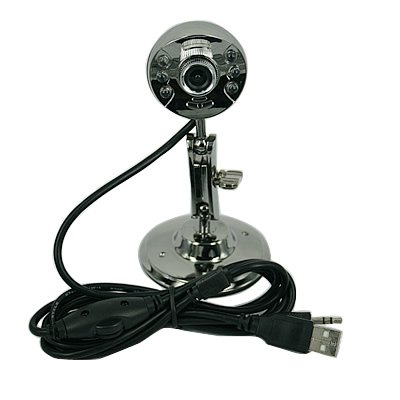 Cubeternet USB 2.0 Webcam with Microphone + Bright LED