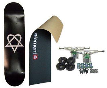 ELEMENT Skateboard LOGO Grip HEARTAGRAM BB COMPLE