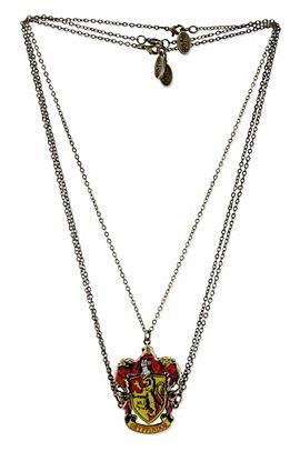 Harry Potter Gryffindor Crest Friendship Necklace (3