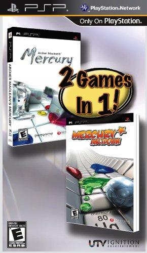 Archer Maclean's Mercury and Mercury Meltdown Sony PSP