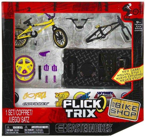 "Eastern Bikes: Flick Trix ~4"" BMX Finger Bike Shop Set"