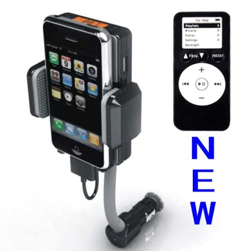 Apple iPhone 4 FM hands-free car charger/ FM