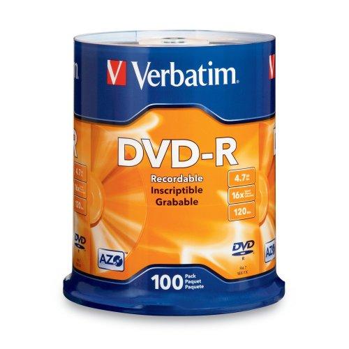 Verbatim 95102 4.7 GB up to 16x Branded Windows