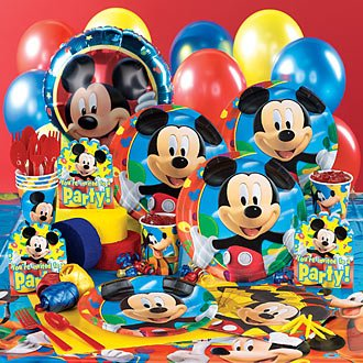 Mickey Mouse Clubhouse Deluxe Party Pack for 8