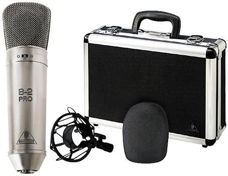 Behringer B-2 Pro Dual-Diaphragm Studio Microphone