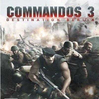 Commandos 3: Destination Berlin [Game Windows XP