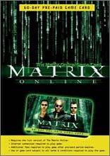 Matrix Online Game Card Windows XP