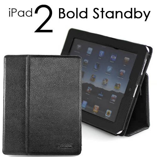 CaseCrown Apple iPad 2 Bold Standby case (Black) for
