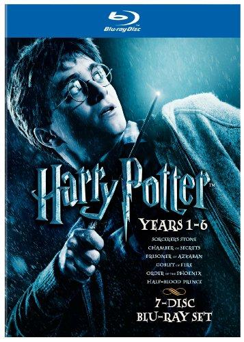 Harry Potter Years 1-6 Giftset [Blu-ray]