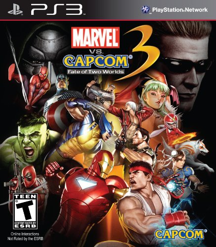 Marvel vs. Capcom 3: Fate of Two Worlds PS3