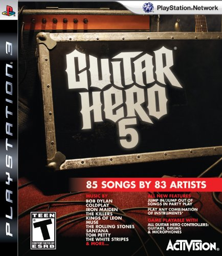 Guitar Hero 5 Stand Alone Software PS3