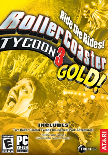 Rollercoaster Tycoon 3: Gold Compilation Windows XP