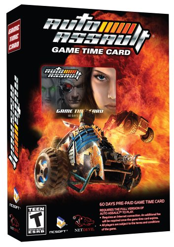 Auto Assault Game Time Card Windows XP
