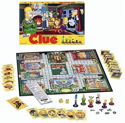 Simpsons Clue