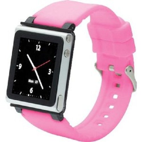iWatchz Clip for iPod nano 6G (Pink Band)
