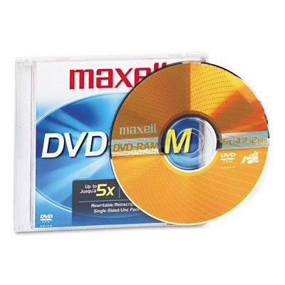 Maxell DVD-RAM x 1 - 4.7 GB - storage media ( Windows