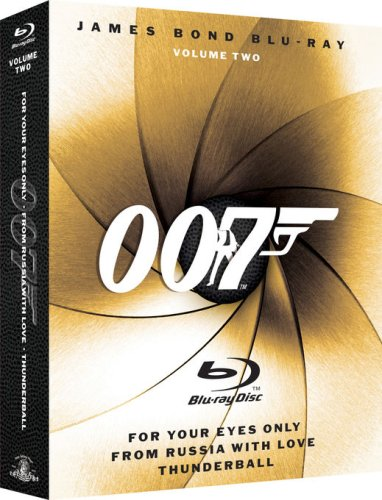 James Bond Blu-ray Collection Three-Pack, Vol.2 (For