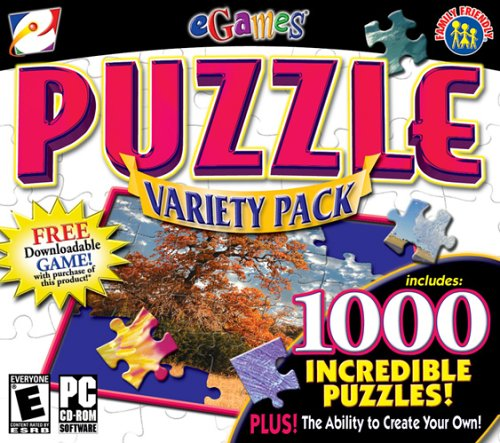 Puzzle Variety Pack (Jewel Case) Windows XP