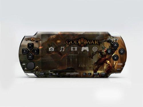 GOD WAR PSP (Slim) Dual Colored Skin Sticker, Sony PSP