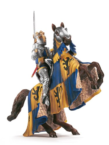 Schleich Lion Coat of Arms Prince on Reared up Horse