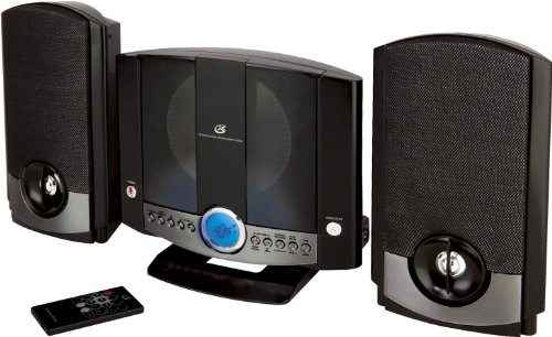 GPX HM3817DTBLK Vertical Home Music System with CD